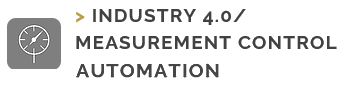 Industry 4.0 Measurment Control Automation